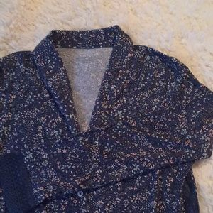 Victoria Secret Button up lounge blouse